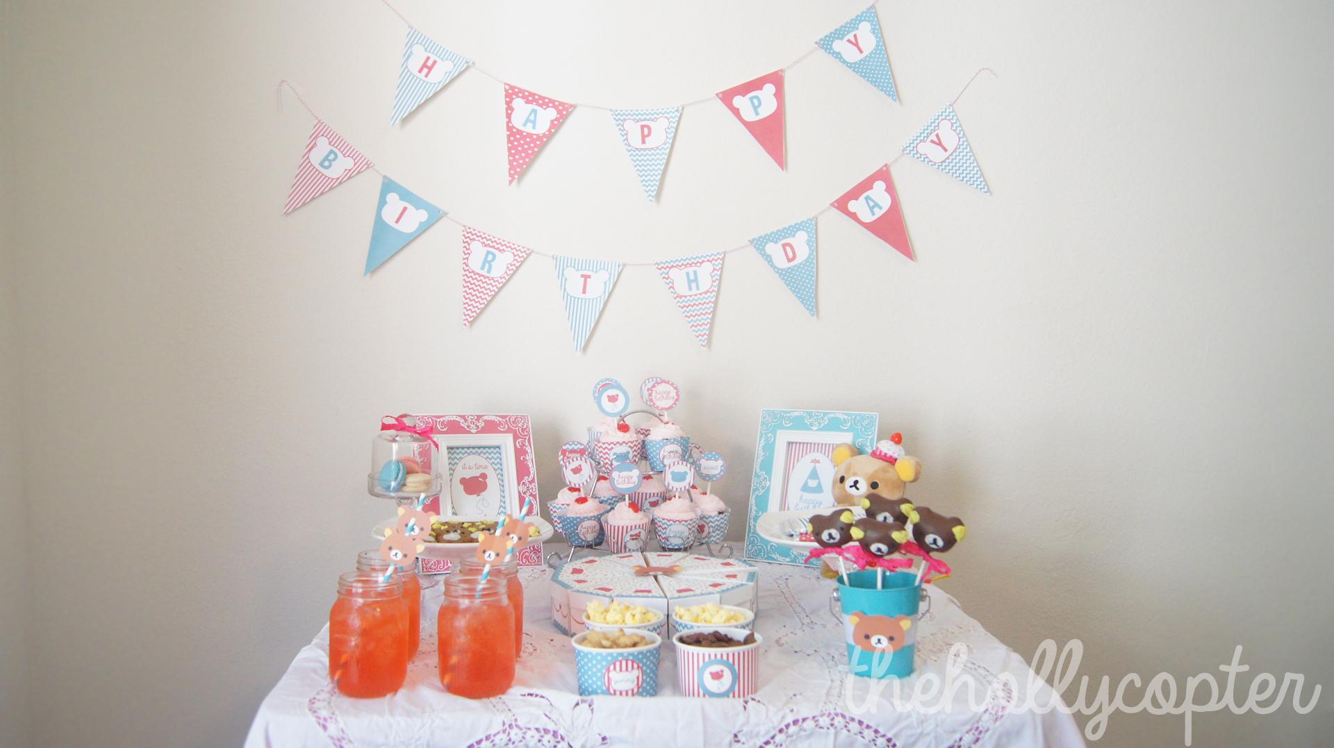 Rilakkuma Birthday Party