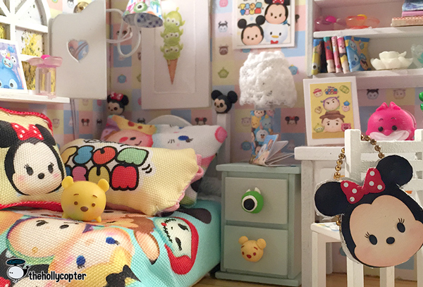 Tsum Tsum Diy Miniature Doll House Room The Hollycopter